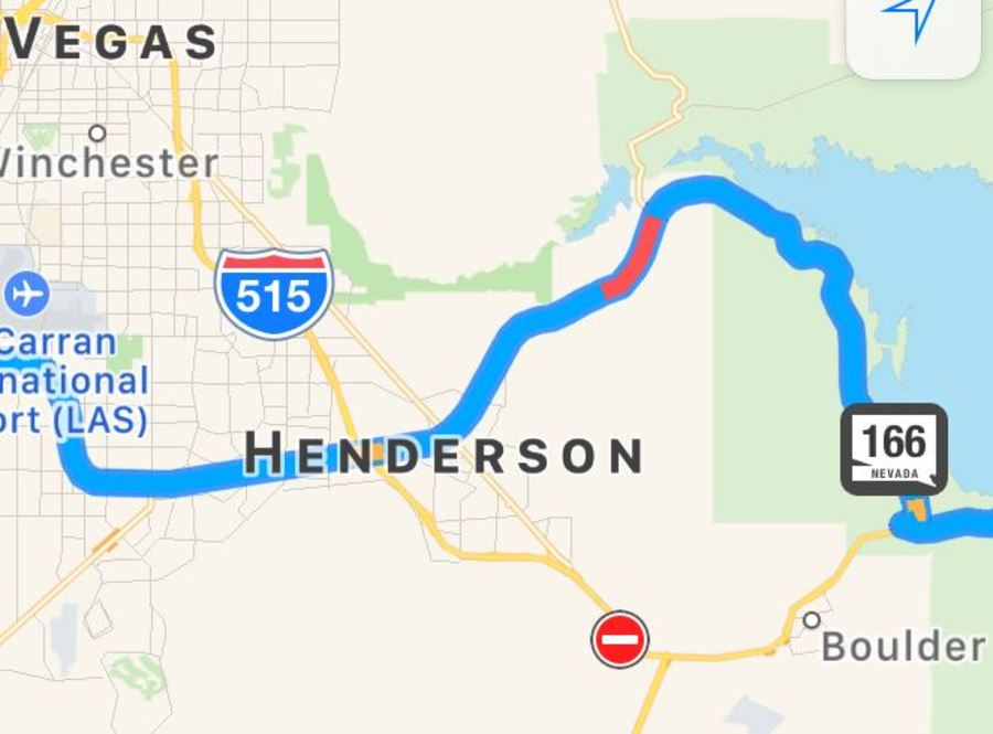 Update Gps Apps Detour Drivers Around Interstate 11 Onto Lake Mead