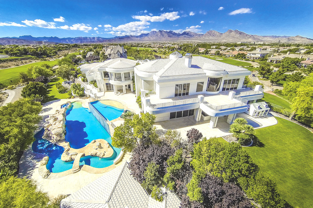5 most expensive las vegas homes sold so far this year for Most expensive homes in las vegas