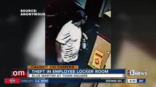VIDEO: Man steals from bar employees