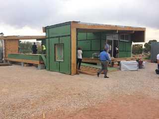 UNLV students design solar-powered house