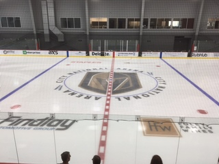 Golden Knights host youth ice skating camps