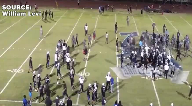 Football teams forfeit over pepper-sprayed brawl