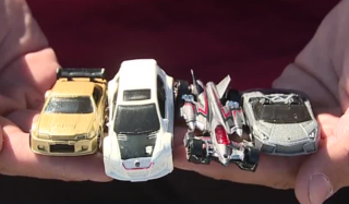 Las Vegas car club collecting Hot Wheels