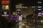 PHOTOS: The Strip shares #VegasStrong marquees