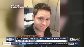 Las Vegas city employee killed in mass shooting