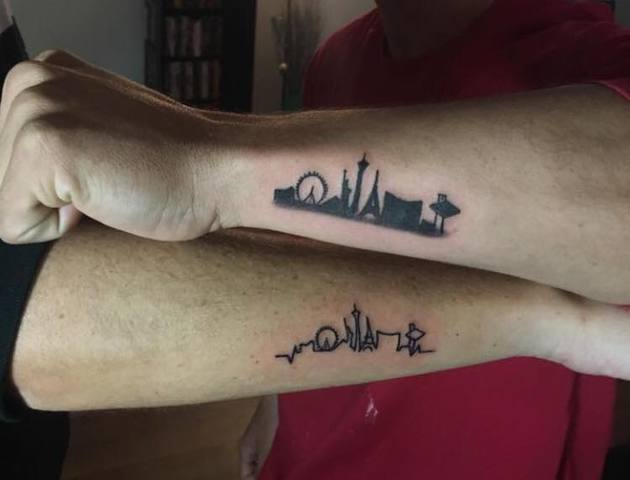 Photos las vegas themed tattoos to support shooting for Tattoo in las vegas
