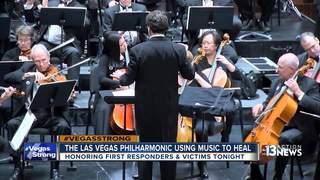 Las Vegas Philharmonic using music to heal