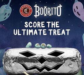 Chipotle offering $3 Halloween BOOritos