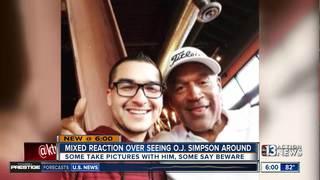 Locals spot O.J. Simpson around Summerlin
