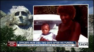 More heartbreak for family of Las Vegas officer