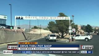 Nevada's first marijuana drive-thru window opens