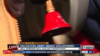 Salvation Army needs bell ringers for holidays