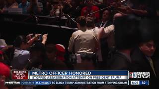 LVMPD honors officers for heroic deeds