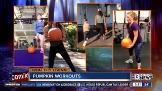 Pumpkin workouts popular near Halloween