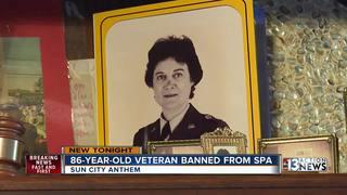 Vet banned from rec center, files lawsuit