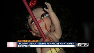 Controversial Halloween display in Summerlin