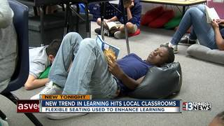 CCSD testing flexible seating in some classrooms