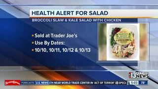 Trader Joe's products recalled
