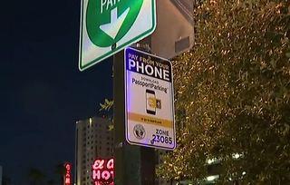 New app helps parking in Downtown Las Vegas