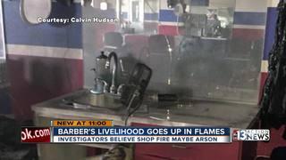 Burned barbershop hurts community