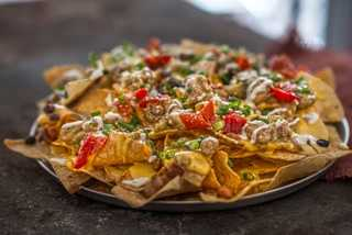 Today is a good day for nachos in Las Vegas
