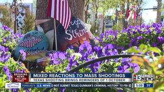 Texas shooting triggers emotions from 1 October