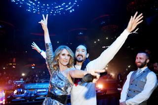 Celine Dion makes surprise appearance at benefit