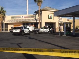 Man ditches gun after Las Vegas shootout