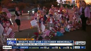 Shooting memorial moving from Las Vegas sign