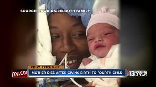 Las Vegas mom dies of childbirth complications