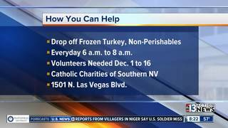 Help Catholic Charities for the holidays