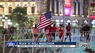 Runners 'Vegas Strong' during Las Vegas marathon