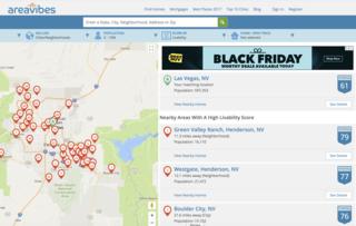 Las Vegas neighborhoods ranked on livability