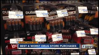 Best and worst drug store purchases