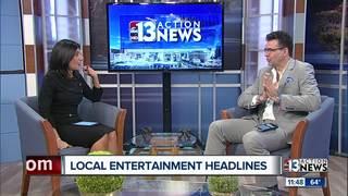 Local entertainment headlines with Johnny Kats!