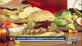 Burgerim offering Thanksgiving-themed burger