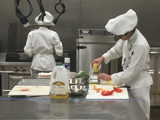 Students show off culinary skills at 'Diced!'