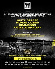 Brooklyn Bowl benefit concert for shooting vics