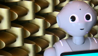 Concierge-like robot added to Strip hotel lobby