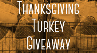 Turkey giveaways and free meals   2017