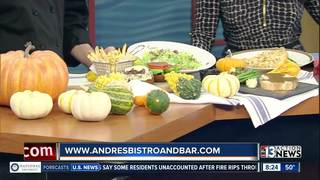 Andre's Bistro and Bar open Thanksgiving