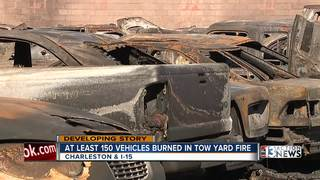UPDATE: Look at 100+ cars burned in large fire
