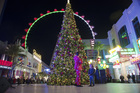 PHOTOS: Tree-lighting ceremony at the LINQ