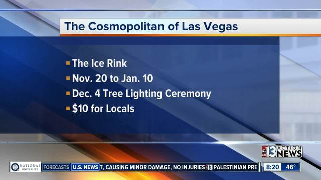 The Cosmo opens ice rink