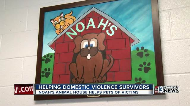 Noah's Animal House helps abuse victims' pets