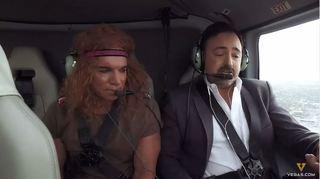 Celebrity helicopter karaoke takes off in Vegas
