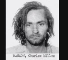 Personal items of Charles Manson on display