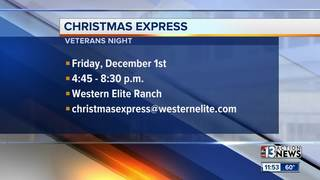 Christmas Express comes to Southern Nevada