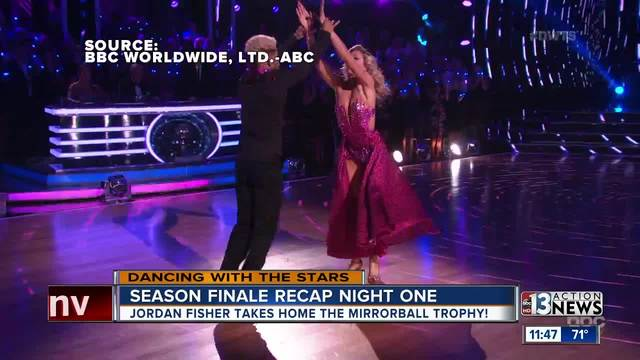 Season 25 of Dancing with the Stars ends