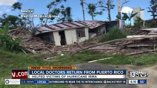 Local doctors home after helping in Puerto Rico
